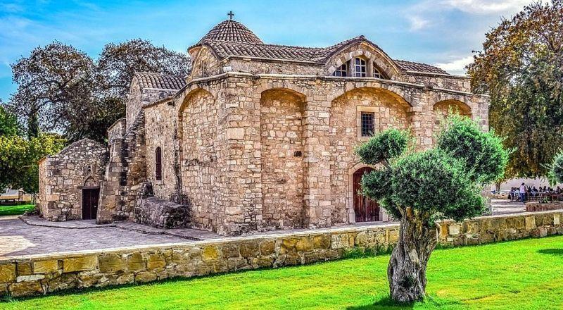 Ларнака Церковь Богородицы Ангелоктисти