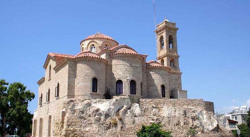 Пафос Церковь Панагии Теоскепасти