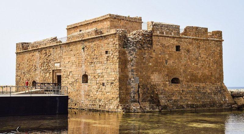 Кипр Пафос Замок