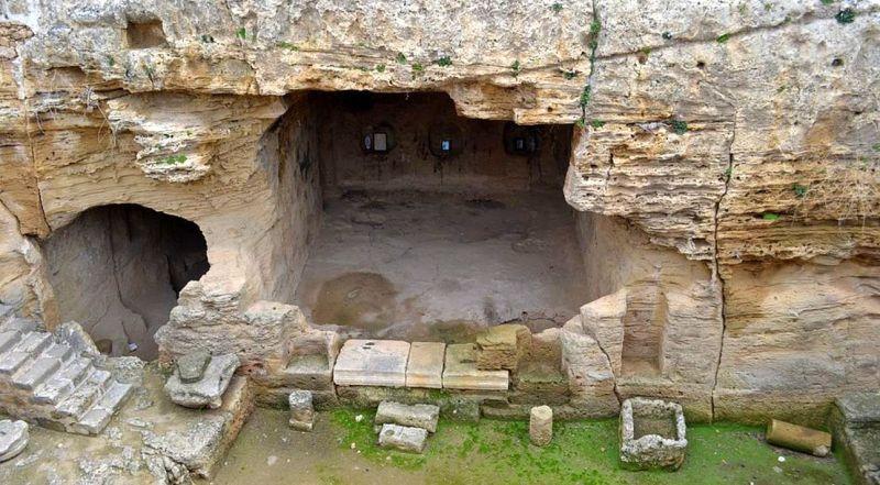 Кипр Катакомбы Святой Соломонии