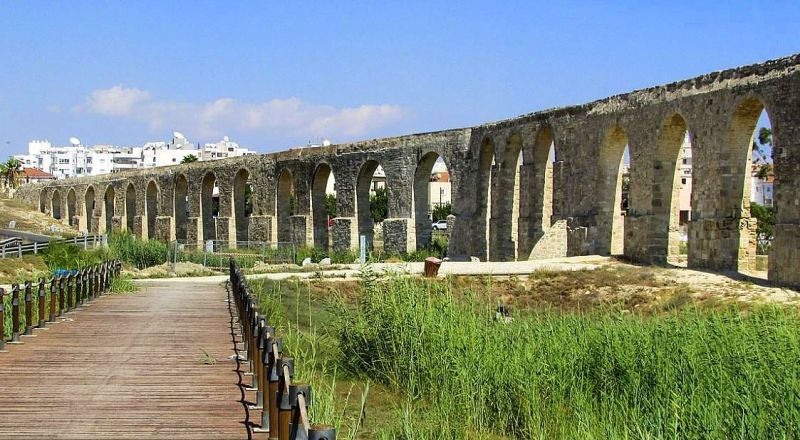 Кипр Акведук Камарес