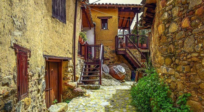 Кмпр Деревня Какопетрия