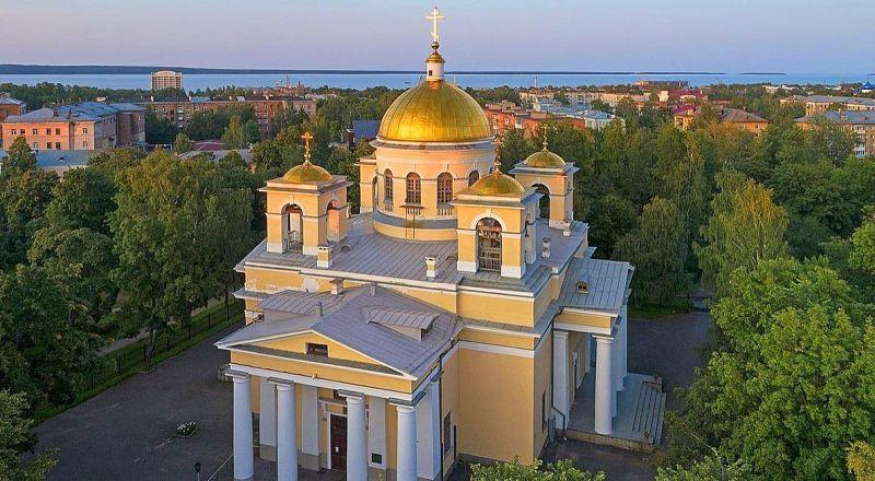 Петрозаводск Собор Александра Невского